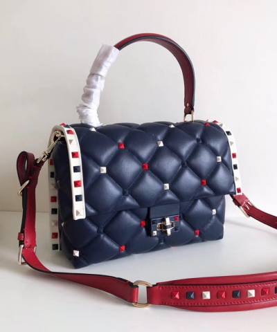 Сумка Valentino Medium Multicolour Candystud Top Handle Bag